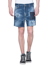 DSQUARED2 Destroyed Short Blue