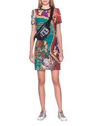 DSQUARED2 Shift Dress Print Multicolor