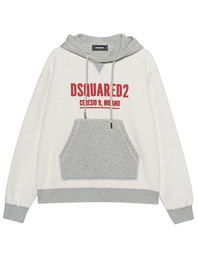 DSQUARED2 Wording Grey Red