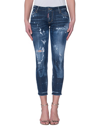 DSQUARED2 Medium Waist Skinny Cropped Jean
