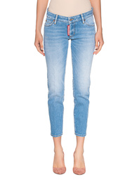 DSQUARED2 Jennifer Crop Light Blue