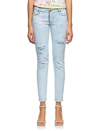 DSQUARED2 Jennifer 5 Pocket Light Blue