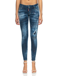 DSQUARED2 Medium Waist Skinny Blue