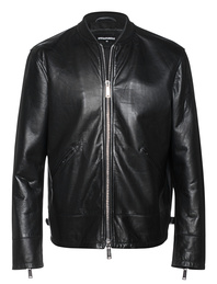 DSQUARED2 Ovine Leather Black