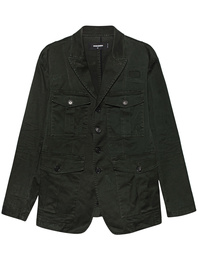 DSQUARED2 Cargo Button Dark Green