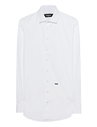 DSQUARED2 Slim-Fit Button-Down White