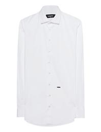 DSQUARED2 Slim-Fit Button-Down White