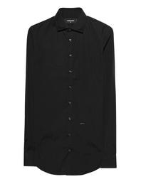 DSQUARED2 Slim-Fit Button-Down Black