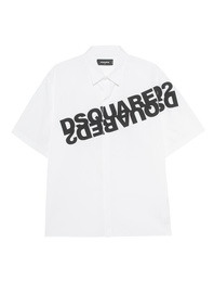 DSQUARED2 Logo Print White