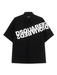 DSQUARED2 Logo Print Black