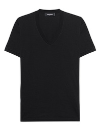 DSQUARED2 V Neck Basic Black