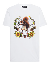DSQUARED2 Squirrel White