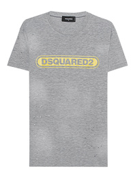 DSQUARED2 Destroyed Shirt Grey