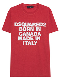 DSQUARED2 Logo Canada Red