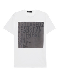 DSQUARED2 Caten Bro Hologram Shirt White