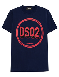DSQUARED2 DSQ2 Logo Navy