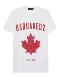 DSQUARED2 Ahorn Logo White