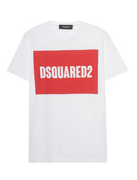 DSQUARED2 Box Logo White