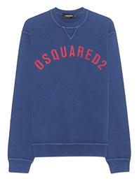 DSQUARED2 Red Logo Navy