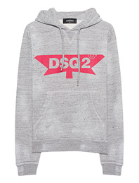 DSQUARED2 Logo Mottled Grey