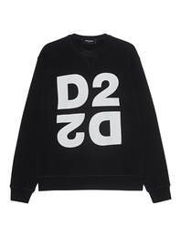 DSQUARED2 D2 Logo Sweater Black