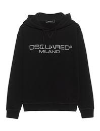 DSQUARED2 Milano Logo Hood Black