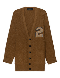 DSQUARED2 Knit Logo College Beige