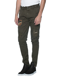DSQUARED2 Chino Patches Oliv