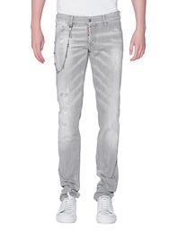 DSQUARED2 Slim Jean Chain Grey