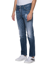 DSQUARED2 Straight Leg Cut Blue