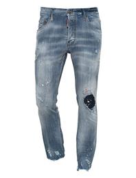 DSQUARED2 Skater Color Splash Blue