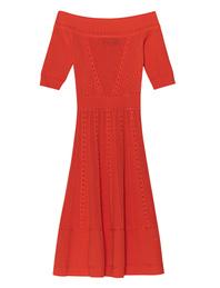 DSQUARED2 Knitwear Off-Shoulder Orange