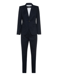DSQUARED2 Suit Pinstripes Navy