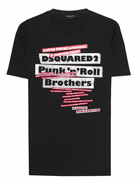 DSQUARED2 Punk Print Black
