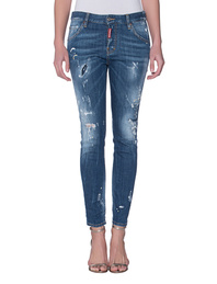 DSQUARED2 Destroyed Cool Girl Blue