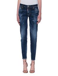 DSQUARED2 Medium Waist Twiggy Jean