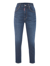 DSQUARED2 Twiggy Cropped Basic Blue