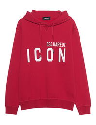 DSQUARED2 ICON Hoodie Red
