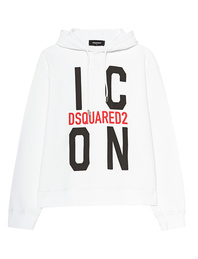 DSQUARED2 Hooded Icon White