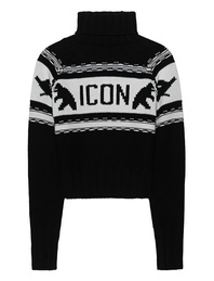 DSQUARED2 Icon Knit Black White