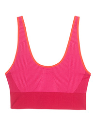 ADIDAS BY STELLA MCCARTNEY The Seamless Bra Ruby Red/Shock Pink