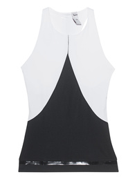 ADIDAS BY STELLA MCCARTNEY Train Tank White Black