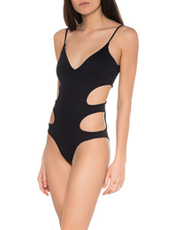 Melissa Odabash Santorini Swimsuit Black