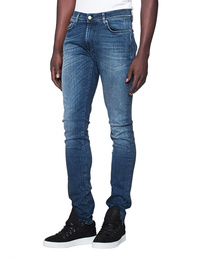 7 FOR ALL MANKIND Ronnie Luxe Performance Magnificent Mid Blue