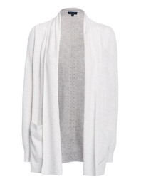 SPLENDID Casual Knit Heathered Off-White