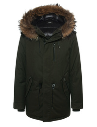 MACKAGE Fur Parka Army Green