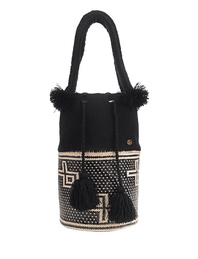 SORAYA HENNESSY Lupe Basket Black