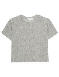 VELVET BY GRAHAM & SPENCER Sky Cropped Heather Grey