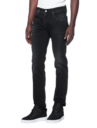 7 FOR ALL MANKIND Slimmy Luxe Performance Magnificent Washed Black
