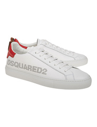 DSQUARED2 Low Logo Red White